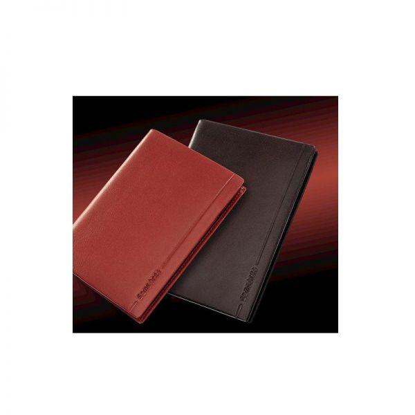 Дамски черен портфейл от естествена кожа, модел F68.09.303