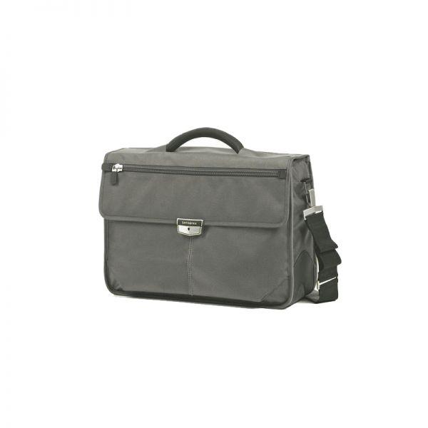 Бизнес компютърна чанта с 3 прегради Avior за 16,4 инча лаптоп сив цвят