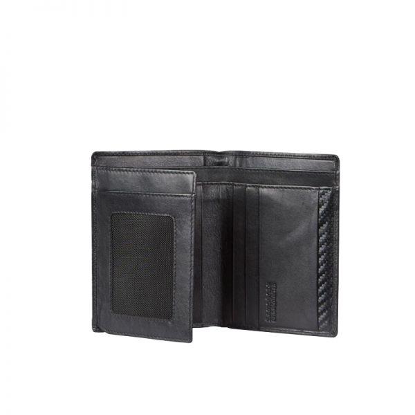 Мъжки портфейл Samsonite с 8 отделения за карти и документи