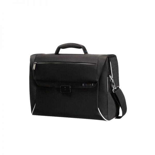 Черна бизнес чанта с 2 прегради за 16 инча лаптоп Spectrolite