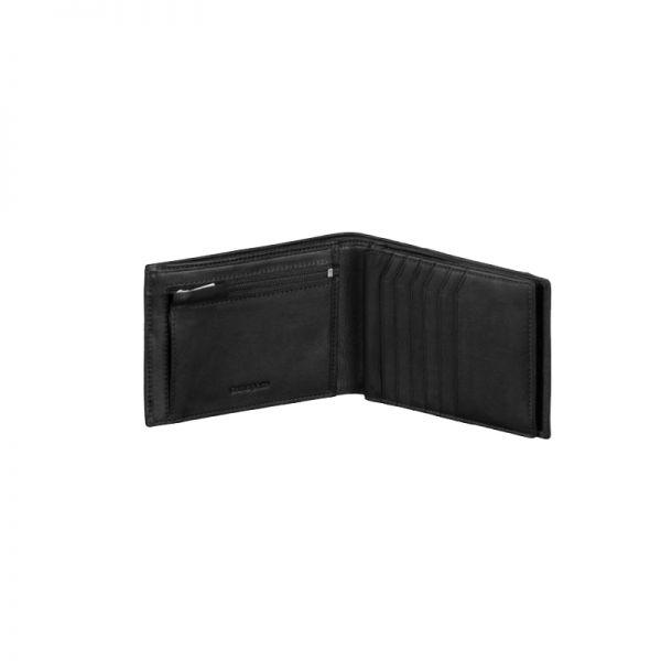 Мъжки портфейл Samsonite с 16 отделения за карти и документи