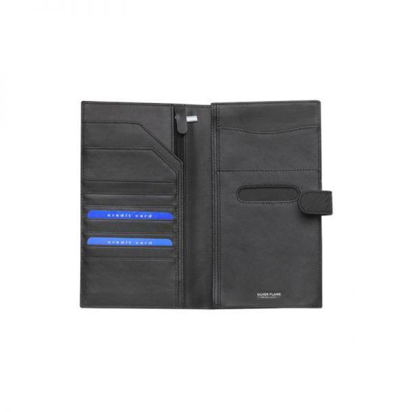 Портфейл за паспорт и билет, Silver Flame