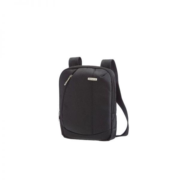 Черна чанта за рамо Intellio