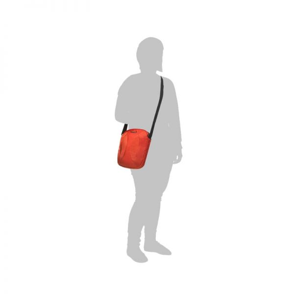 Оранжева чанта за рамо за 9,7 инча таблет Duo Plyer