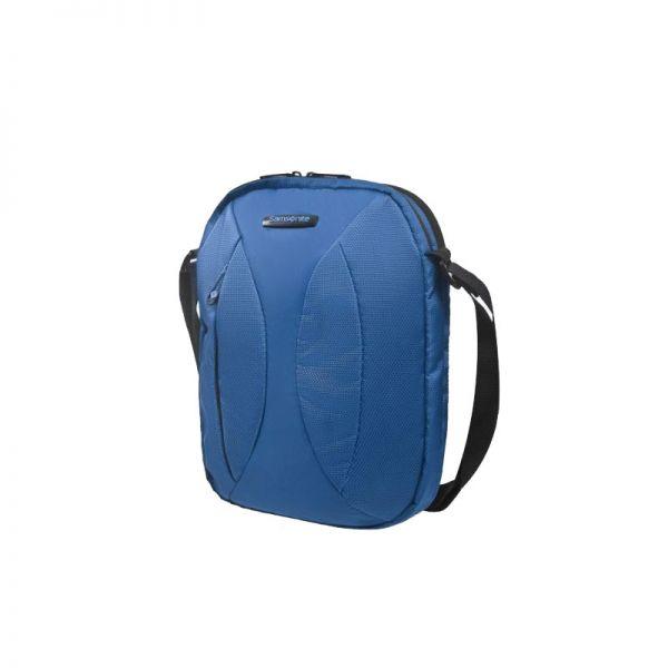 Синя чанта за рамо за 9,7 инча таблет Duo Plyer