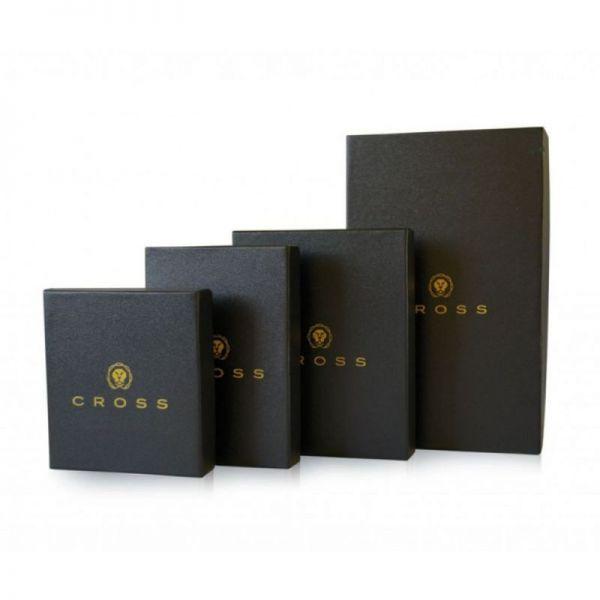 Дамски портфейл Cross SPANISH SUMMER с 18 отделения за карти, черен