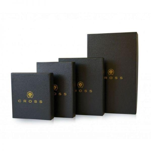 Дамски портфейл от естествена кожа Cross Charol Napa Black