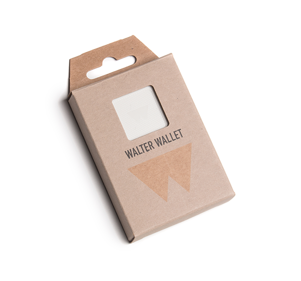 Портфейл Walter Wallet, Bright White