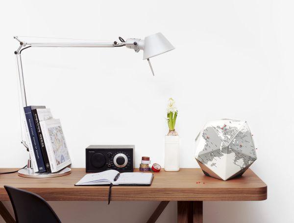 Бамбукова поставка за бюро Walter Wallet, с безжично зарядно
