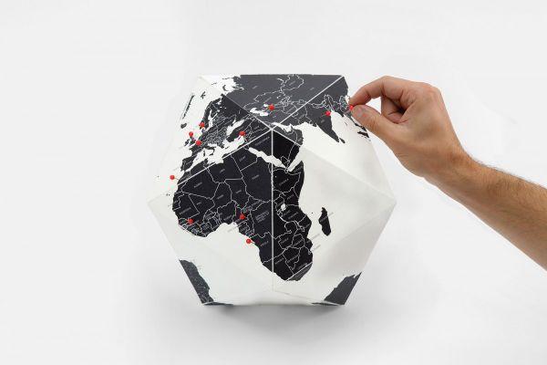 Персонален глобус HERE by cities (среден размер)