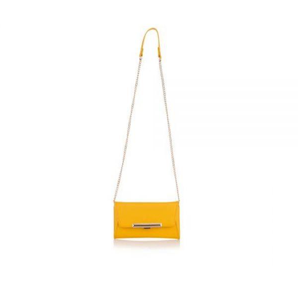 Дамска чанта Pierre Cardin тъмно кафява