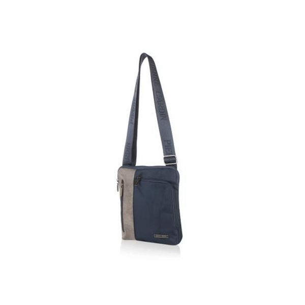 Мъжки чанта Pierre Cardin плат и еко кожа