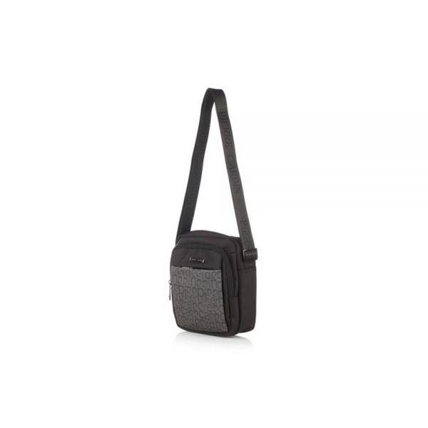 Мъжки чанта Pierre Cardin плат с лого