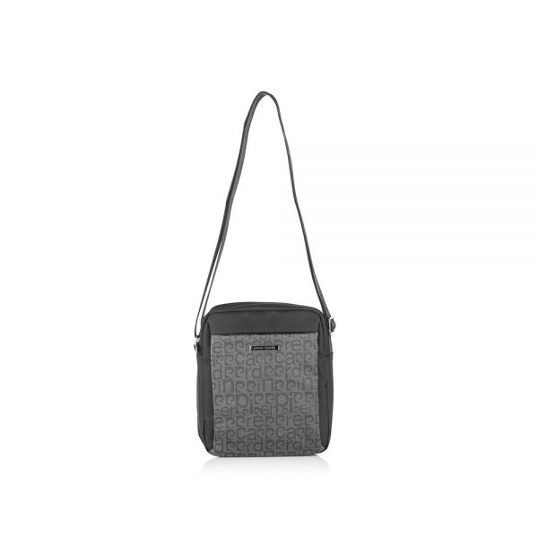 Мъжки чанта Pierre Cardin черно/сиво
