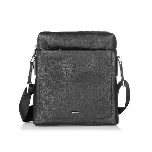 Черна чанта SILVER FLAME, средна