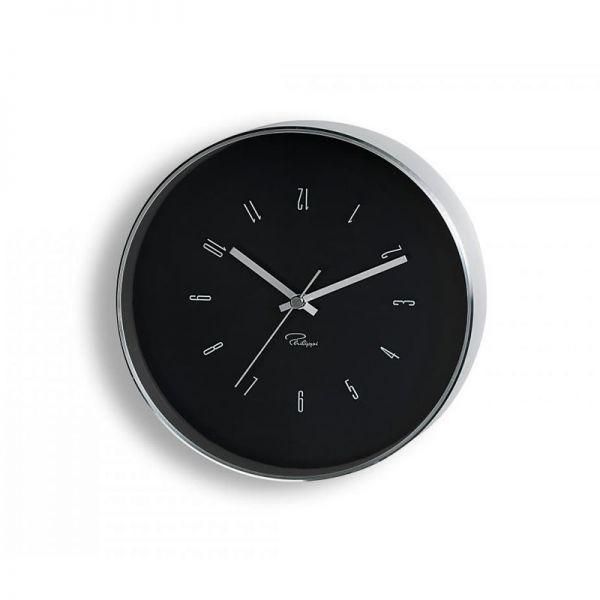 "PHILIPPI Часовник за стена ""TEMPUS"" - BL1 - черен"