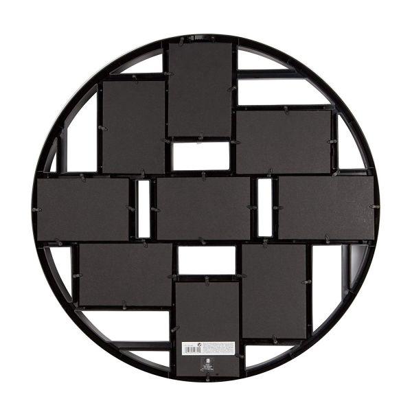 """UMBRA Колаж от рамки за снимки """"LUNA"""" - цвят черен - за 9 снимки"""
