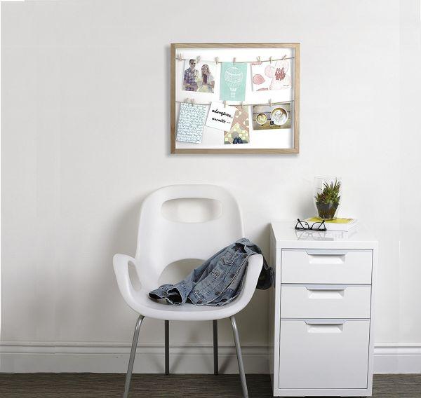 """UMBRA Колаж за снимки """"CLOTHESLINE"""" - цвят бял"""