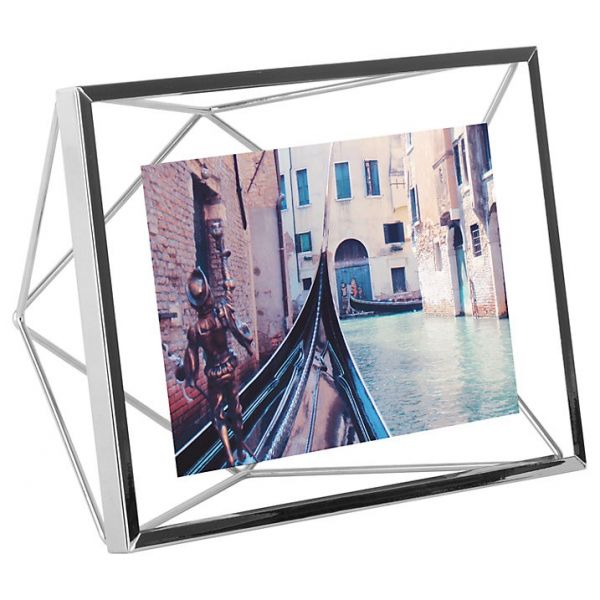 "UMBRA Рамка за снимки ""PRISMA"" - цвят хром - 13х18см"