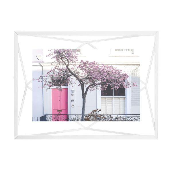 "UMBRA Рамка за снимки ""PRISMA"" - цвят бял - 10х15см"