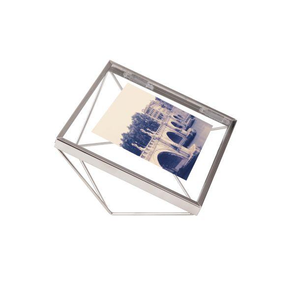 "UMBRA Рамка за снимки ""PRISMA"" - цвят хром - 10x10см"