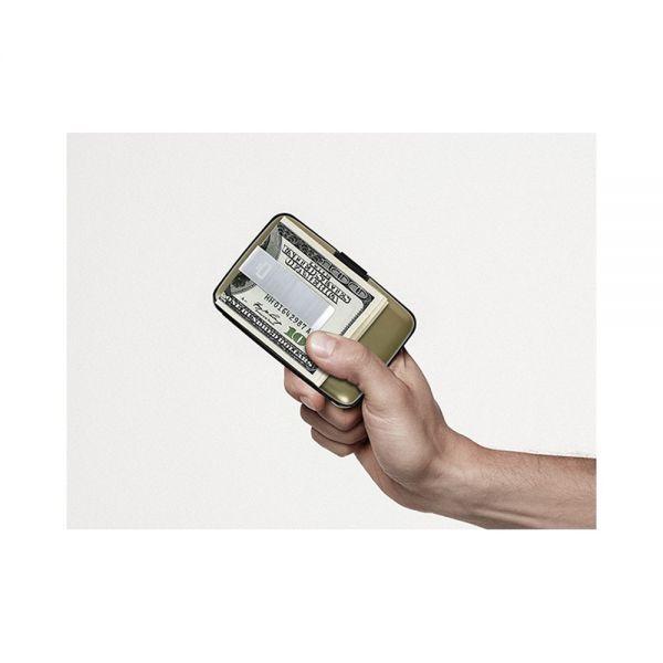 Портфейл Stockholm Money clip, Син