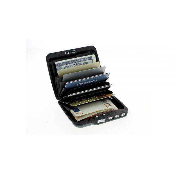 Мини сейф OGON Code Wallet, Сребрист