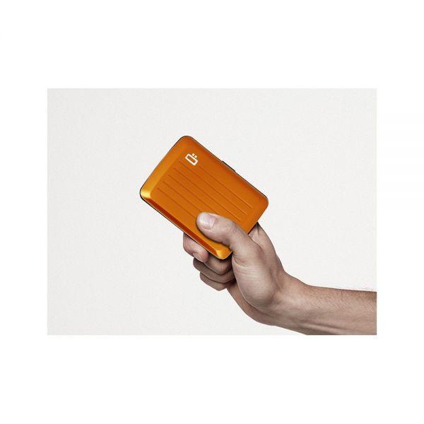 Портфейл OGON Card case Stockholm V2, Платина