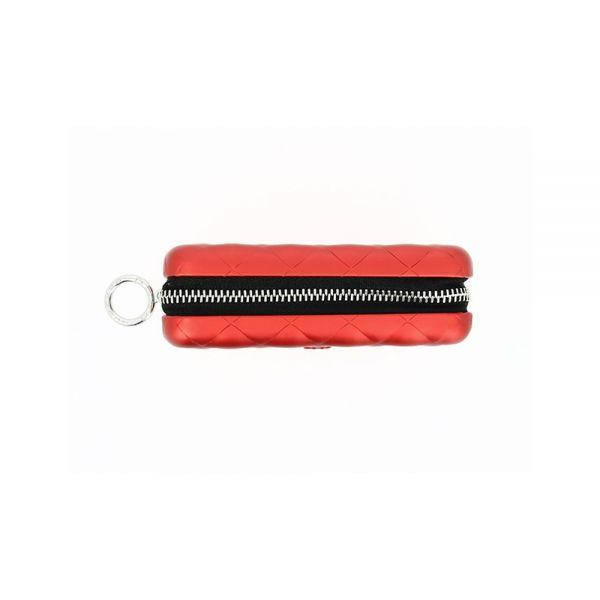 Дамски портфейл OGON Quilted Zipper, Тъмно сив