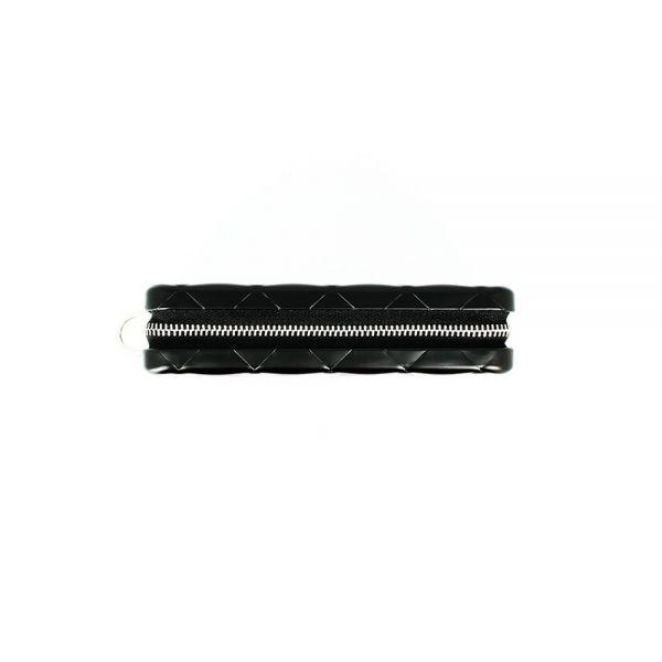 Дамски портфейл OGON Quilted Zipper, Rose Gold