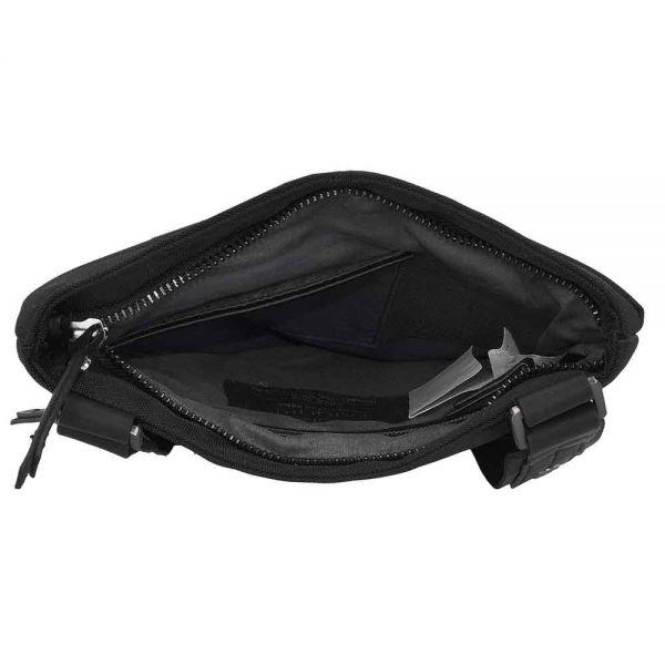 Чанта от полиестер Bugatti Contratempo, черна