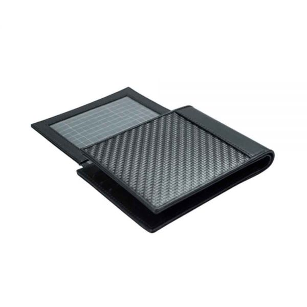Мъжки портфейл с Монетник от Карбон Coldfire, GT-Rebel Carbon Fibre Wallet with coin pocket, RFID защита
