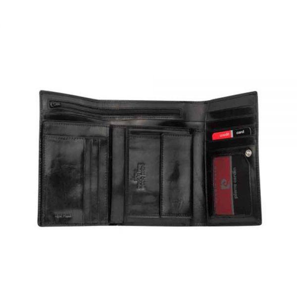 Дамски портмоне Pierre Cardin, гладка кожа