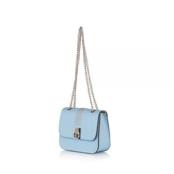 Дамска чанта Pierre Cardin , малка синя