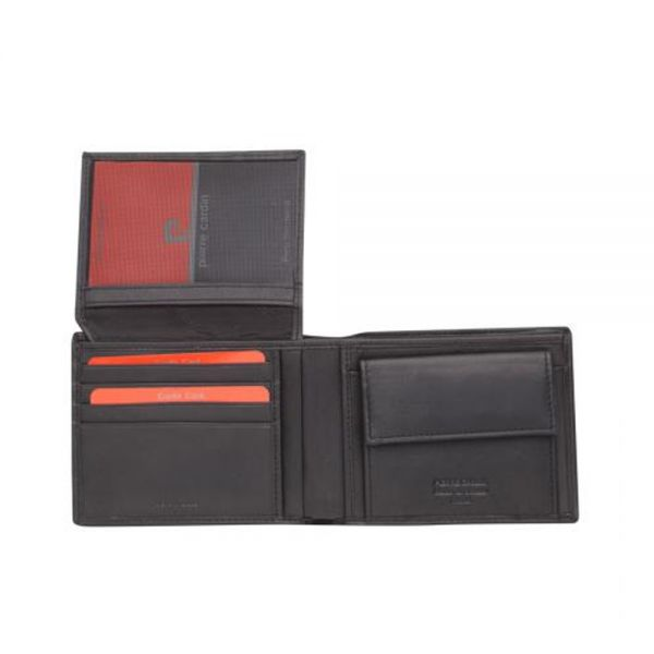 Мъжки портфейл Pierre Cardin, с вертикална черта