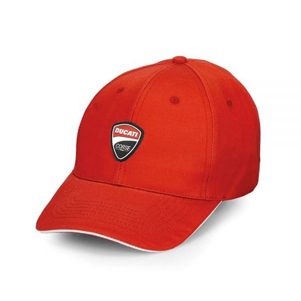 Шапка с козирка Ducati , червен