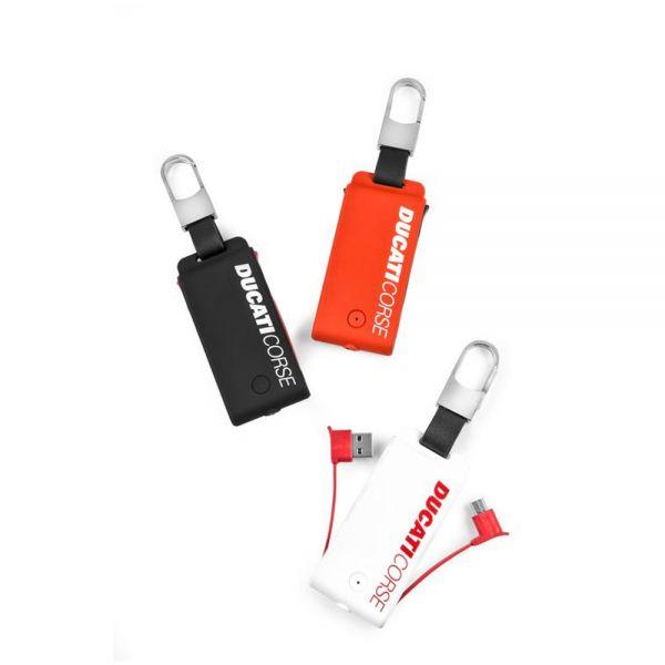 Ключодържател преносима батерия с и фенерче Ducati