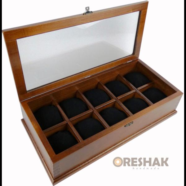 Дървена кутия за часовници Oreshak