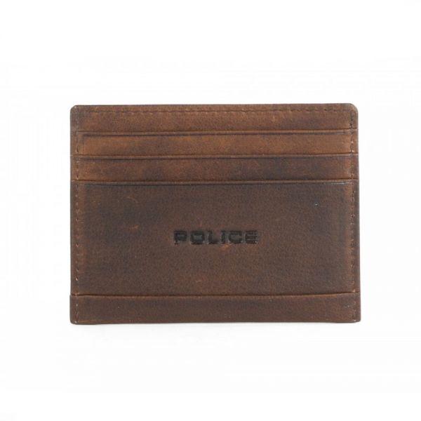 Калъф за карти и документи Police Waldo, кафяв