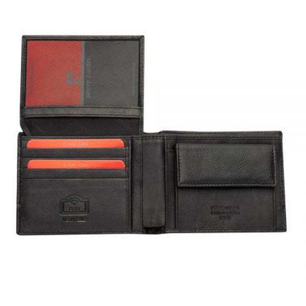 Мъжки портфейл Pierre Cardin с червена черта