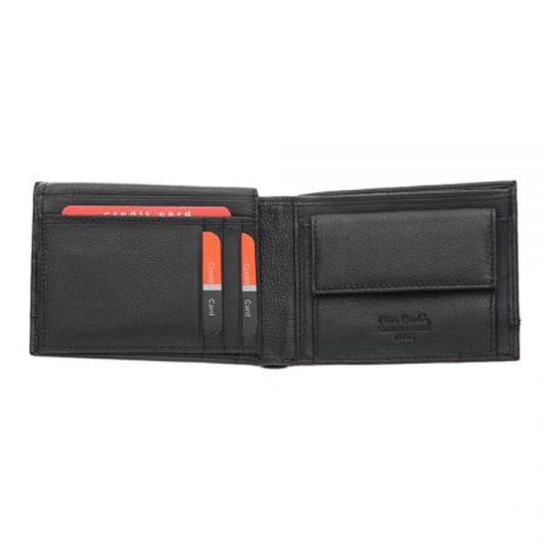 Мъжки портфейл Pierre Cardin с хоризонтална черна черта