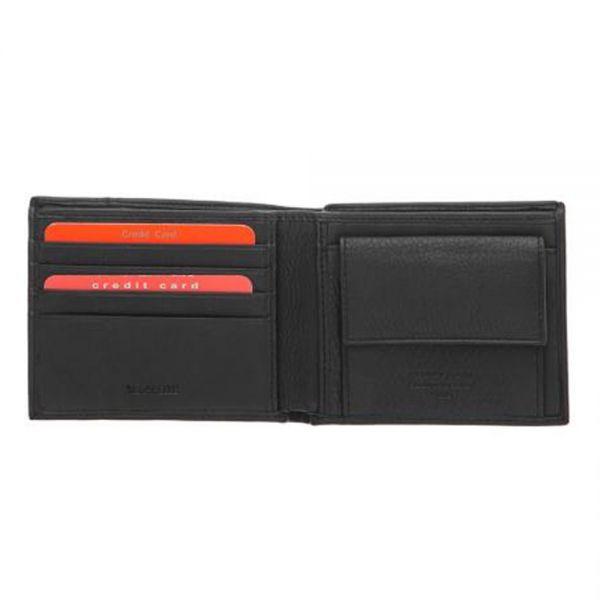 Малък мъжки портфейл Pierre Cardin, с вертикална червена черта