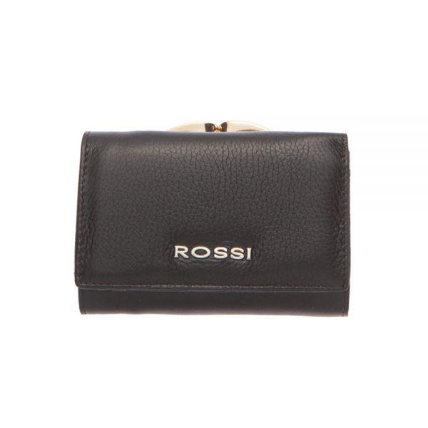 Малко дамско портмоне ROSSI, Червено Шагрен