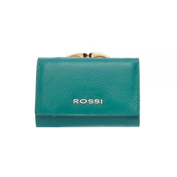 Малко дамско портмоне ROSSI, Тъмно Кафе