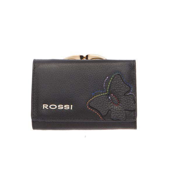 Малко дамско портмоне ROSSI, Синьо Езеро