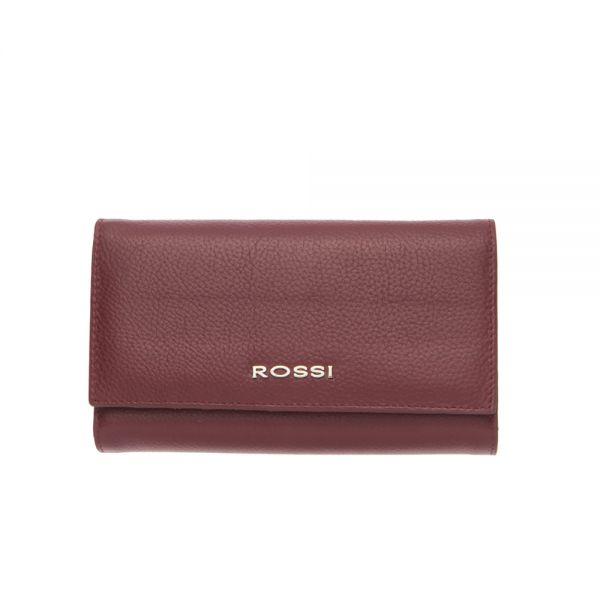 Дамско портмоне ROSSI, Тъмно кафе