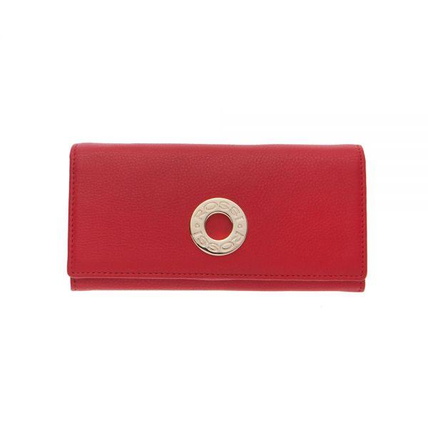 Дамско портмоне ROSSI винено червено