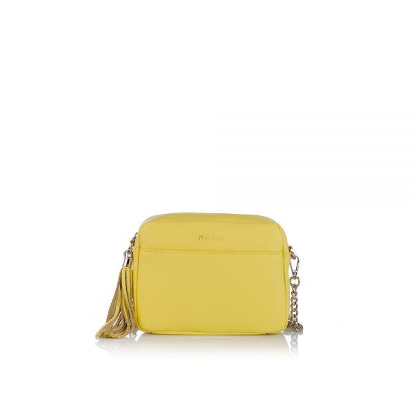 Малка дамска чанта Pierre Cardin - Petit, бяла