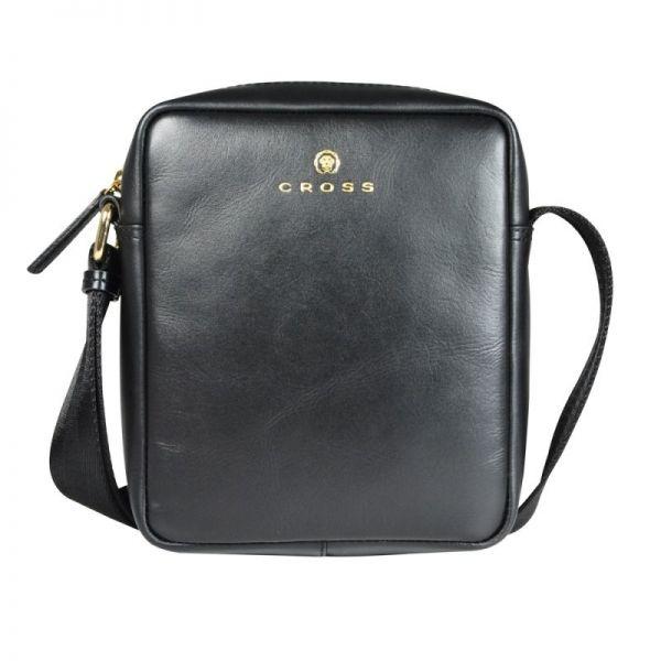 Малка мъжка чанта за рамо Cross Insignia, черна