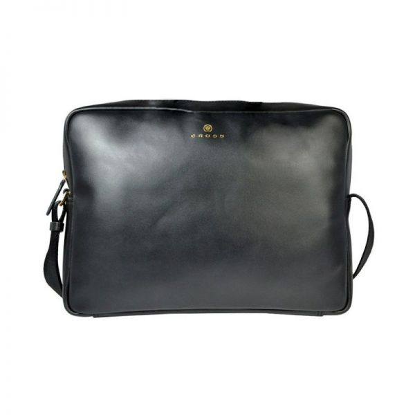 Голяма мъжка чанта за рамо Cross Insignia, черна